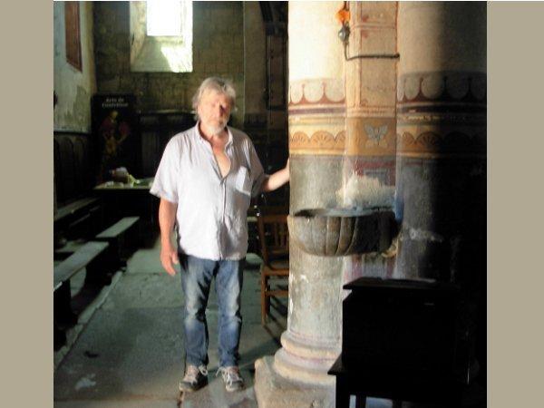 Formation géobiologie sacrée - L'église de Thuret