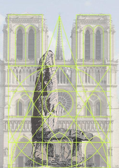La géobiologie sacrée, des mégalithes aux cathédrales